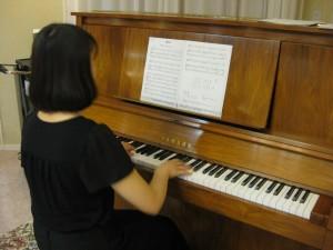 ピアノ生演奏♫