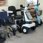 電動カートや車椅子
