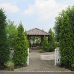 樹園のお庭玄関